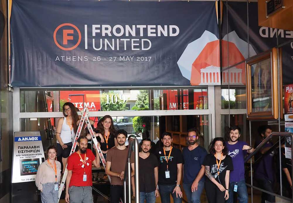 The organizers of Frontend united
